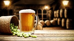 Birra bionda artigianale